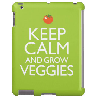 Mantenga tranquilo y produzca los Veggies