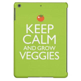 Mantenga tranquilo y produzca los Veggies Carcasa Para iPad Air