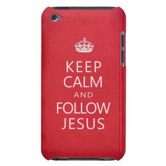 Mantenga tranquilo y siga a Jesús iPod Touch Cobertura