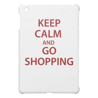 Mantenga tranquilo y vaya a hacer compras