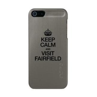MANTENGA TRANQUILO Y VISITA FAIRFIELD FUNDA PARA iPhone 5 INCIPIO FEATHER SHINE
