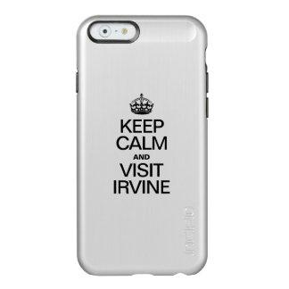 MANTENGA TRANQUILO Y VISITA IRVINE FUNDA PARA iPhone 6 PLUS INCIPIO FEATHER SHINE