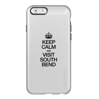 MANTENGA TRANQUILO Y VISITA SOUTH BEND FUNDA PARA iPhone 6 PLUS INCIPIO FEATHER SHINE