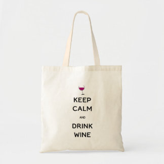Mantenga vino tranquilo y de la bebida