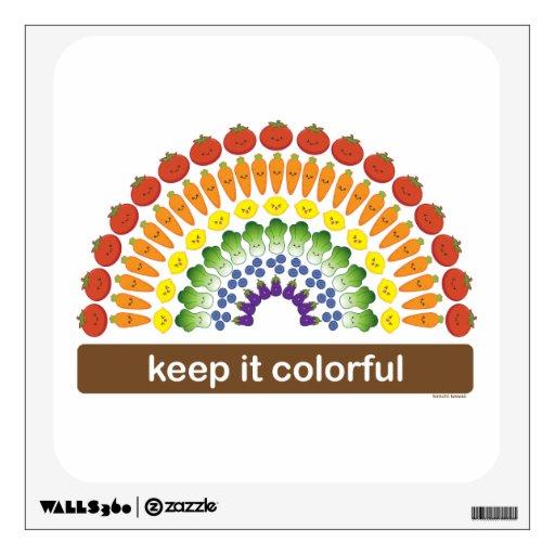 ¡Manténgalo colorido!