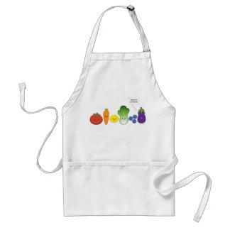 Manténgalo colorido (el diseño simple) delantal