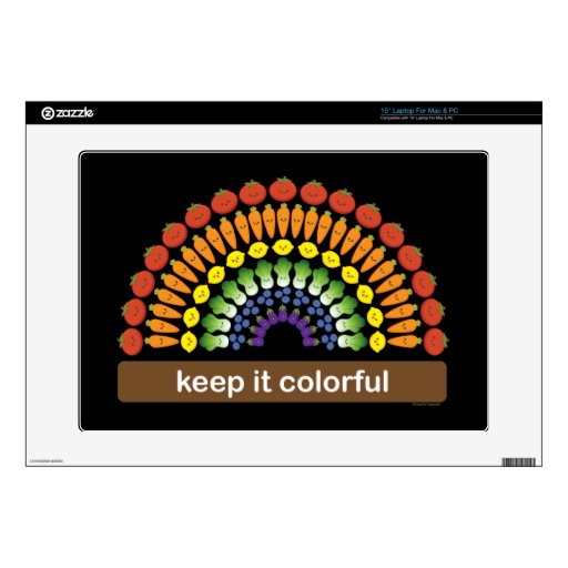 ¡Manténgalo colorido! Skins Para 38,1cm Portátil