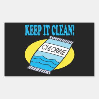 Manténgalo limpio rectangular altavoces