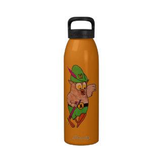 Manténgalo limpio y vaya verde botella de agua reutilizable