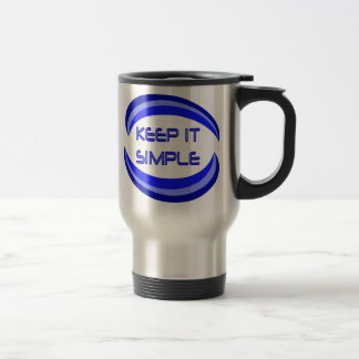 Manténgalo simple taza de viaje