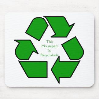 ¡Manténgalo verde! Tapete De Ratón