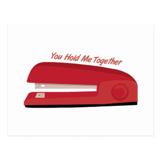 Manténgame unido tarjeta postal