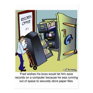 Manteniendo ficheros seguros postal