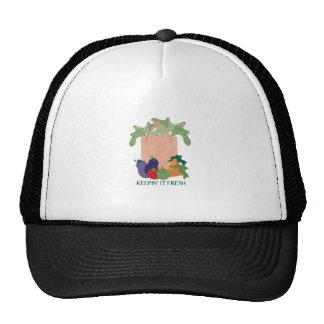Manteniéndolo fresco gorras