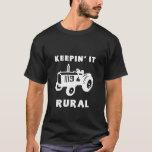 Manteniéndolo rural playera