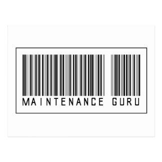 Mantenimiento Guru del código de barras Postal