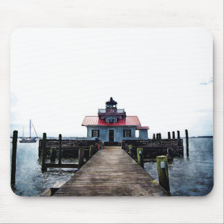 Manteo Lighthouse Mouse Pad