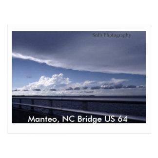 Manteo, NC Bridge US 64 Postcard