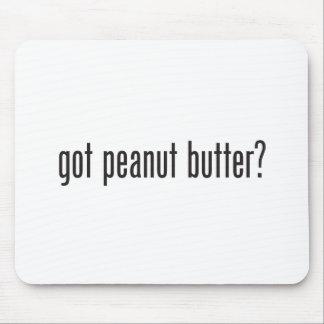 mantequilla de cacahuete conseguida alfombrillas de raton