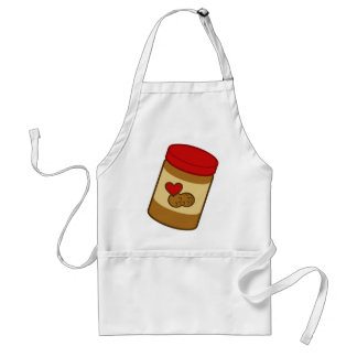 Mantequilla de cacahuete delantal