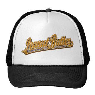 Mantequilla de cacahuete gorras de camionero