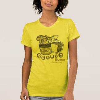 mantequilla de cacahuete camisetas