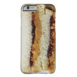 Mantequilla de cacahuete y bocadillo de la jalea funda para iPhone 6 barely there