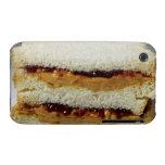 Mantequilla de cacahuete y bocadillo de la jalea iPhone 3 protectores