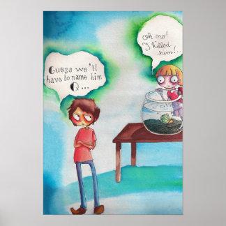 ¡Mantequilla del Guppy - oh no Poster