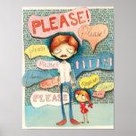 ¡Mantequilla del Guppy - por favor! Poster