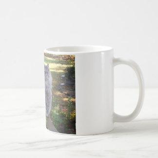 Mantequilla en la verja del pórtico taza clásica