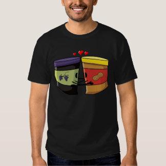 Mantequilla y jalea de cacahuete camisas