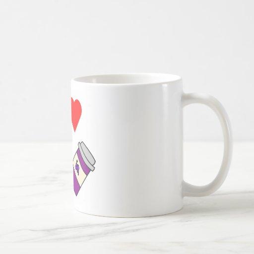 Mantequilla y jalea de cacahuete del corazón I Tazas De Café