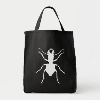 Manticora tuberculata canvas bag