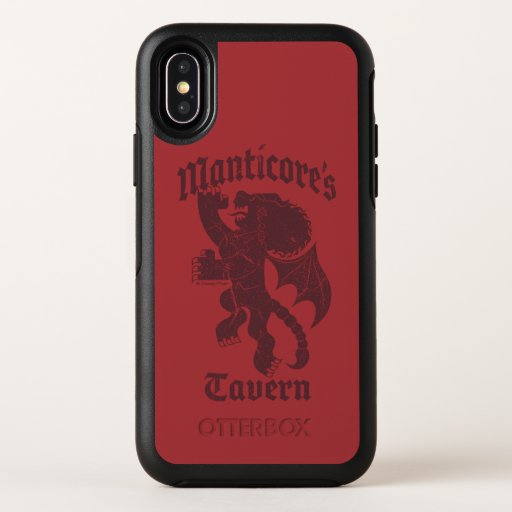 Manticore's Tavern OtterBox Symmetry iPhone X Case