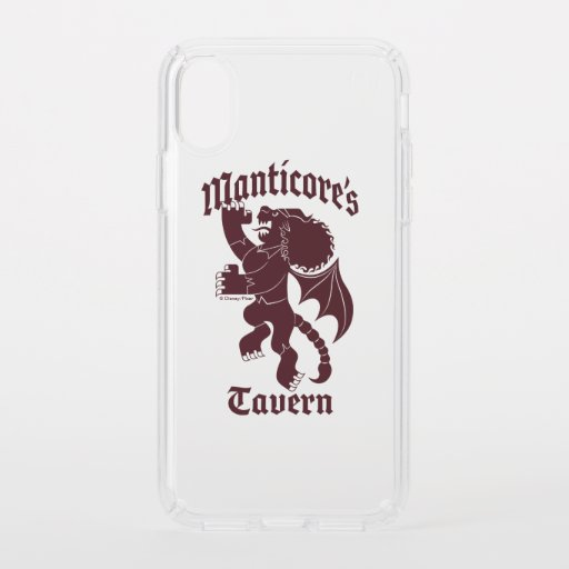 Manticore's Tavern Speck iPhone XS Case
