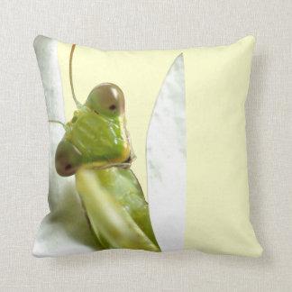 Mantid Throw Pillow