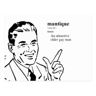 MANTIQUE POSTCARD