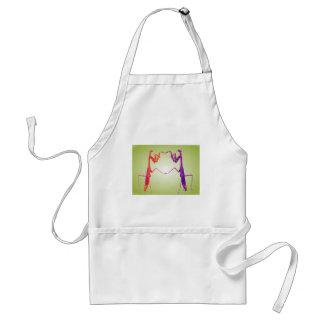 mantis dance2 adult apron