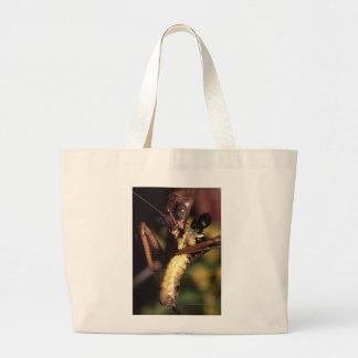 Mantis religiosa bolsa tela grande
