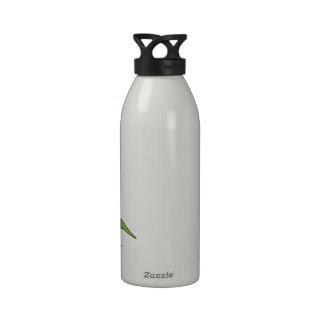 Mantis religiosa botella de agua reutilizable