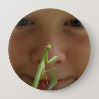 Mantis religiosa button