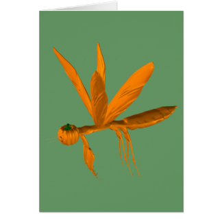 Mantis religiosa de Halloween Tarjeta De Felicitación