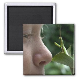 Mantis religiosa magnet