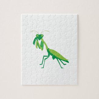 Mantis religiosa puzzle