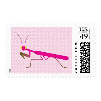 Mantis religiosa sello