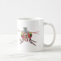 Mantis Shrimp double image Mug