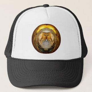Mantle Disk Cut-out - Digital Artwork Trucker Hat