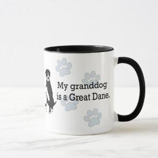 Mantle Great Dane Granddog Mug