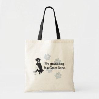Mantle Great Dane Granddog Tote Bag
